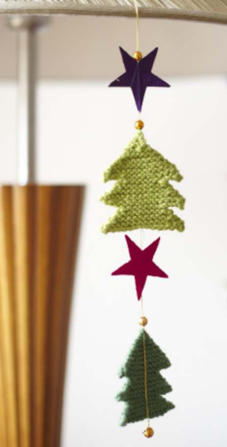 Free and easy Christmas tree pattern