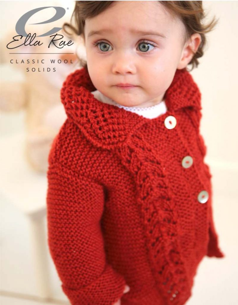 free knitting pattern for a baby jacket