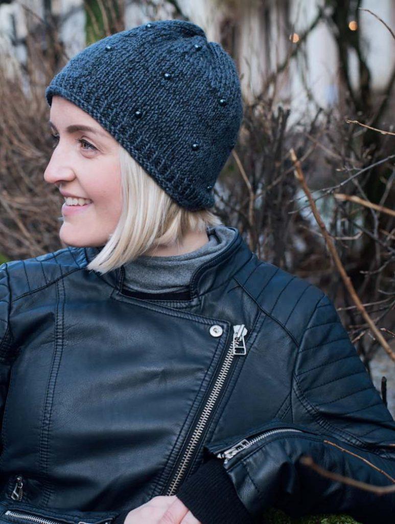 Free modern women's knitting patterns basic hat beanie