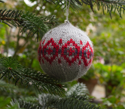 Christmas Bauble Knitting Patterns