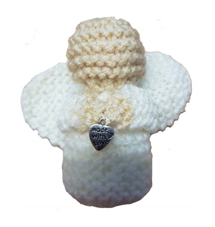 Knit angel pattern