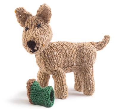 Free Knitting Pattern for an Outdoor Dog