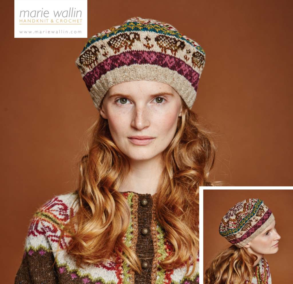 Free Knitting Pattern for a Wooly Fair Isle Hat
