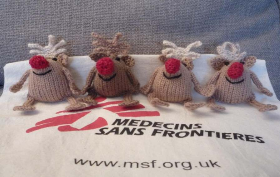 Free knit pattern for reindeer's
