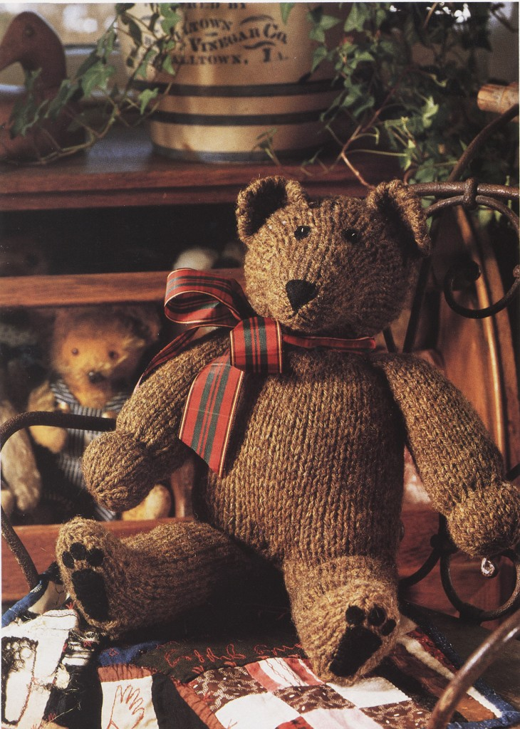 free knitting pattern for a teddy bear