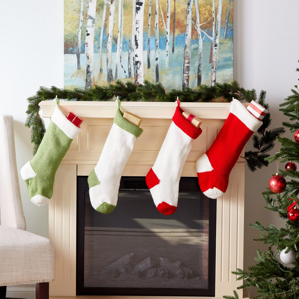 free christmas stocking knit pattern