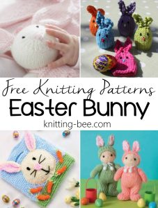 20+ Free Knitting Pattern for Easter Bunny Rabbits