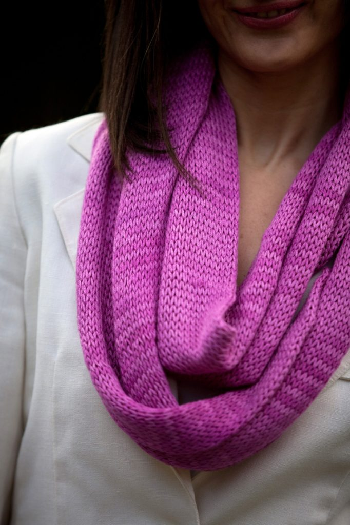 Easy Infinity Scarf Pattern
