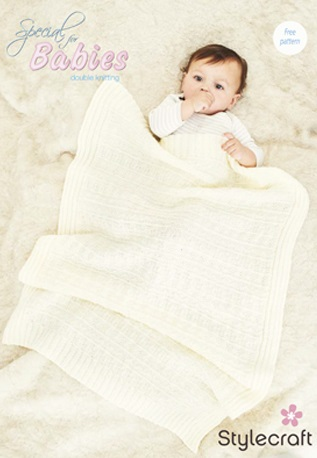 free knitting pattern for a dk baby blanket