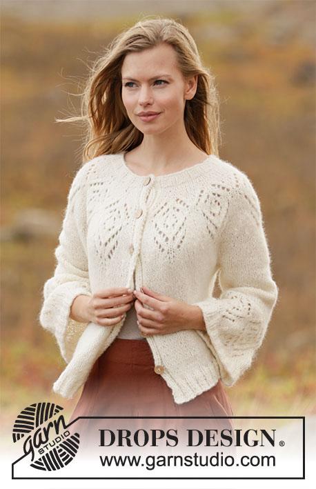 Ladies S,M,L,XL Knitted Long Ridged Jacket Knitting Pattern