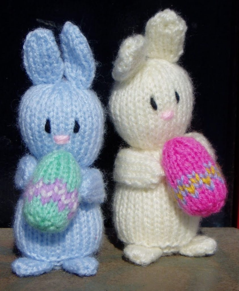 little easter bunnies free knitting pattern.