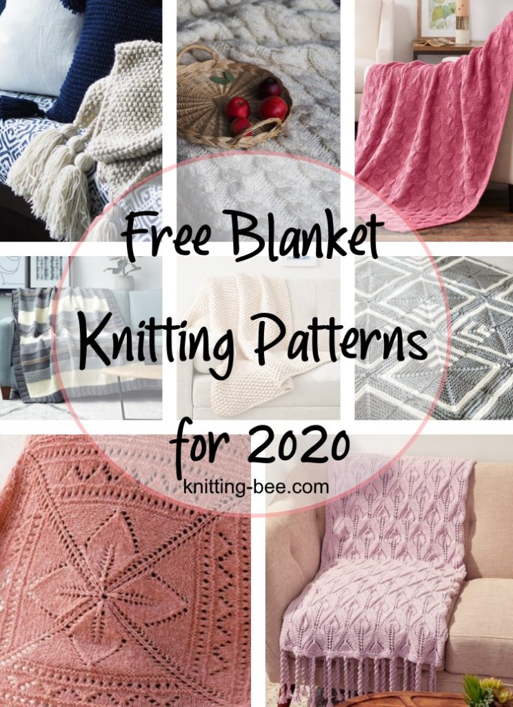 Free Blanket Knitting Patterns for 2020