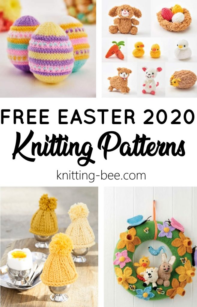 Free Easter knitting patterns 2020