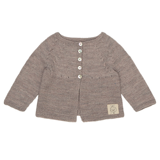 Raglan sleeve baby cardigan free knitting pattern