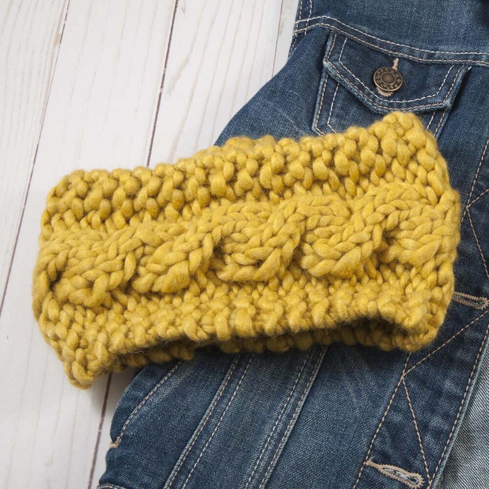 Autumn Sun Headwrap Knit Pattern Free Download