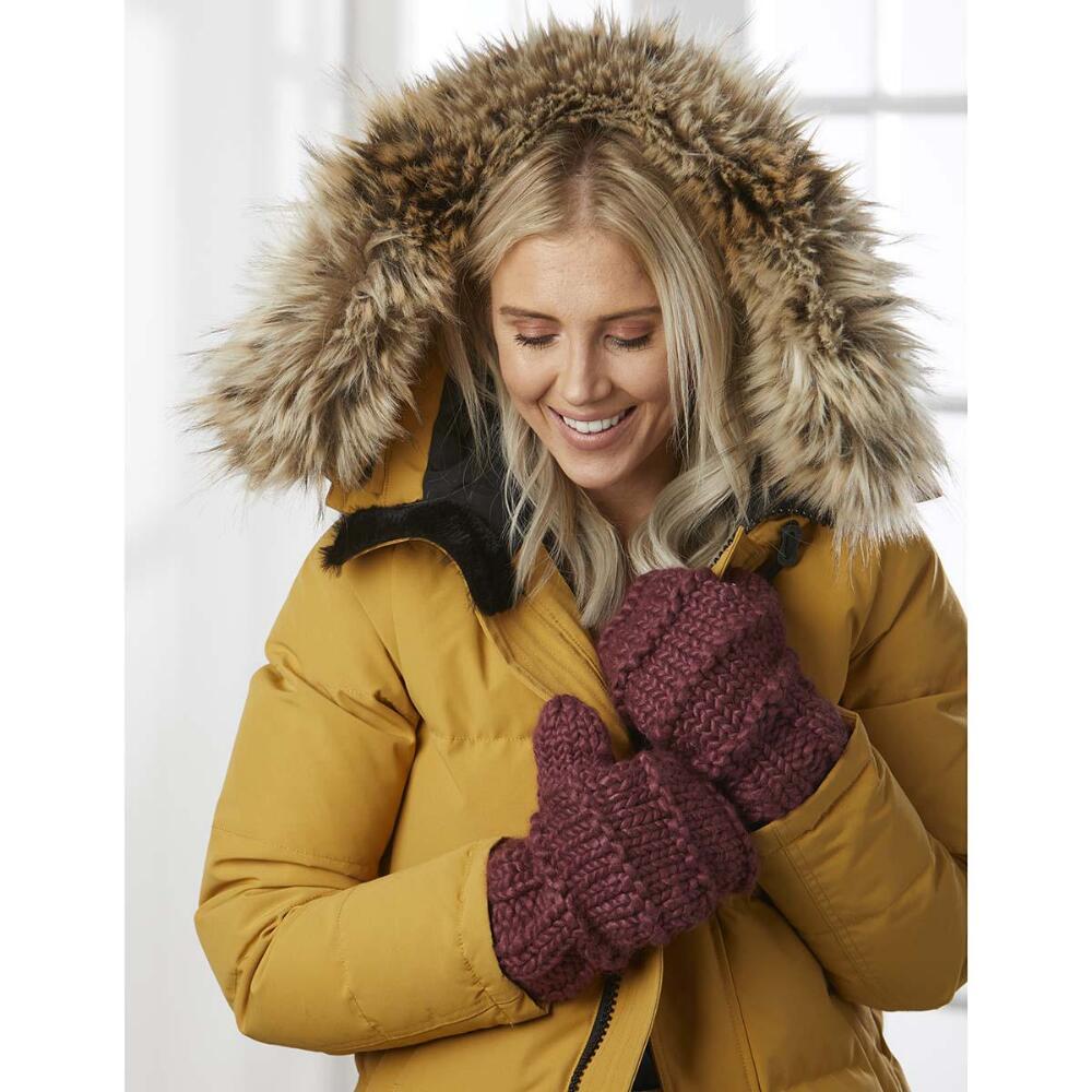Cozy Mittens Knit Pattern Free Download