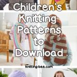 Free children's knitting pattern for 2020