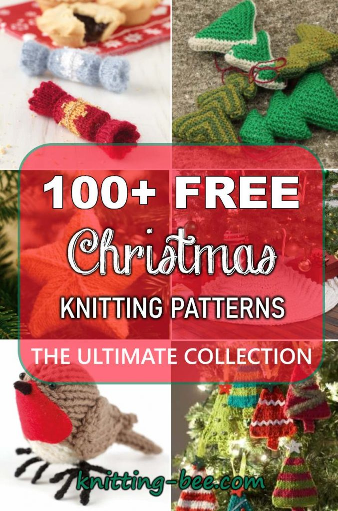 100+ Free Christmas Knitting Patterns