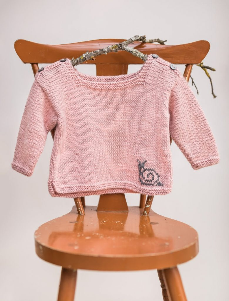 Baby and Toddler Free Sweater Knit Pattern