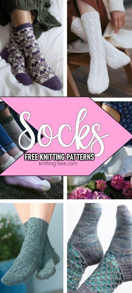 free knitting patterns for socks 2020