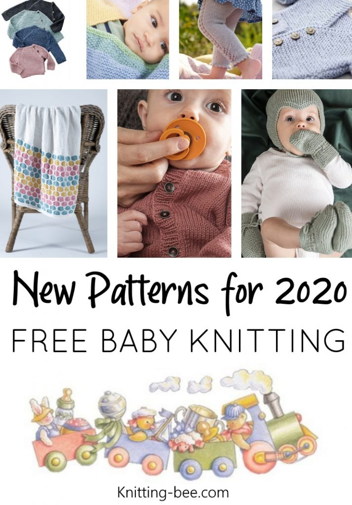 Free baby knitting pattern for 2020