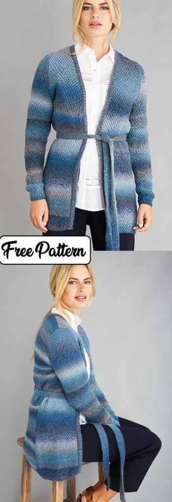 Easy Knitting Patterns for Women's Cardigans