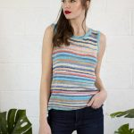 Free Knit Pattern for a Striped Summer Tank Top