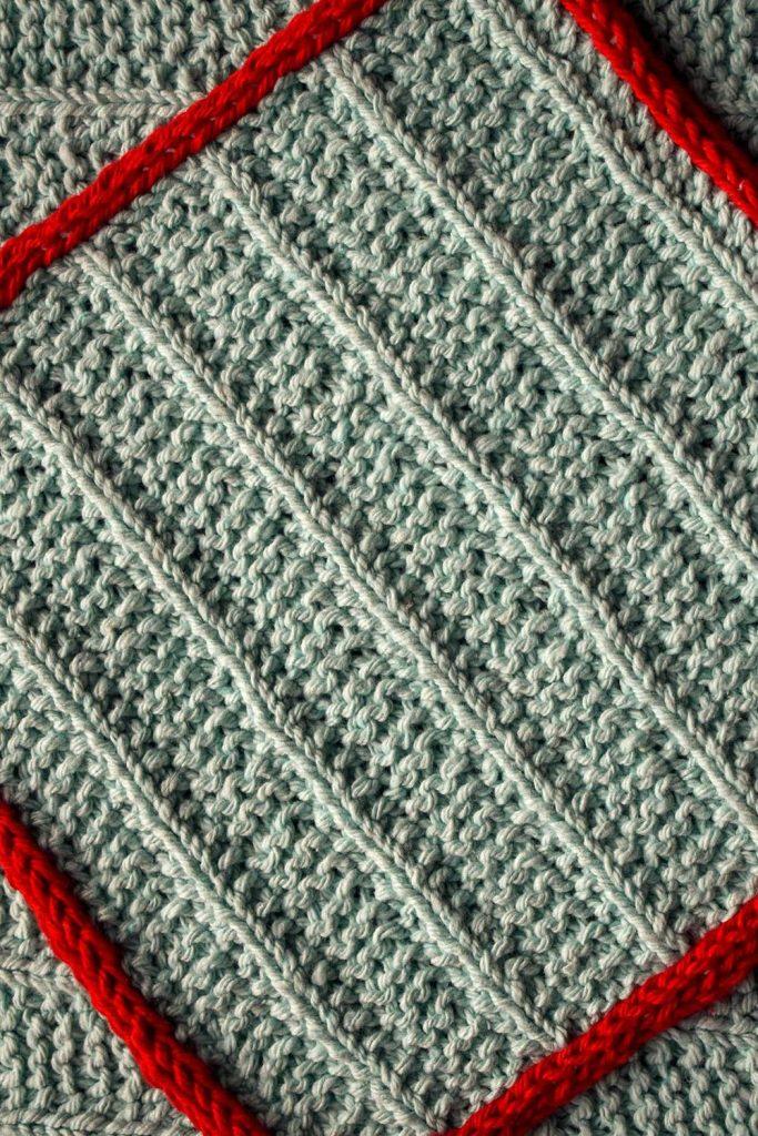 Free Knit Pattern for an Easy Fresh Air Washcloth