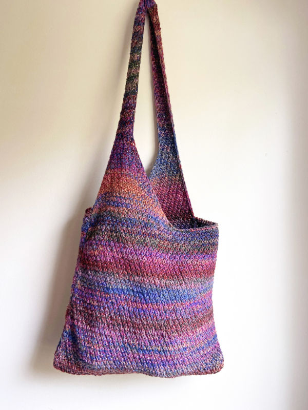 Free Knitting Pattern for a Goshen Bag