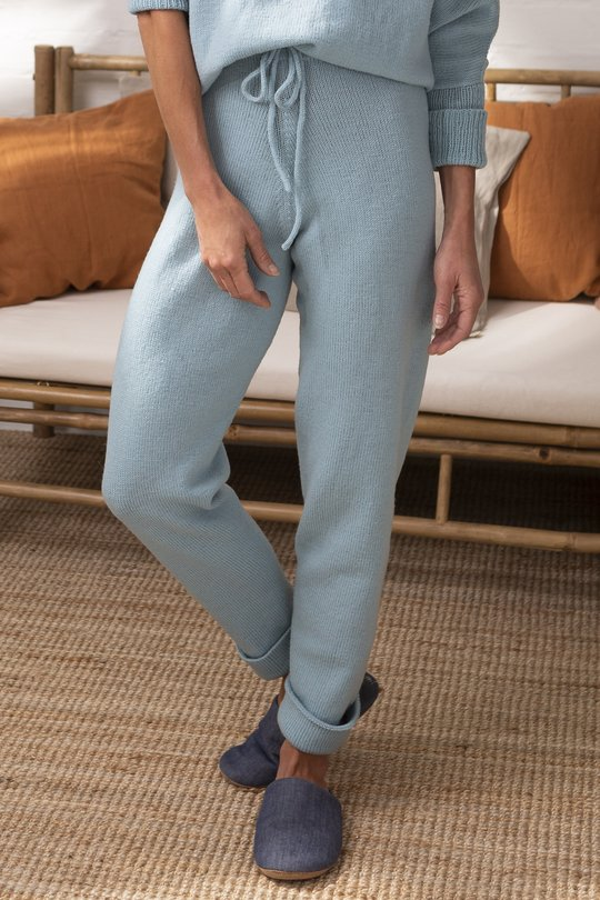 Free Knitting Pattern for Ladies Trousers