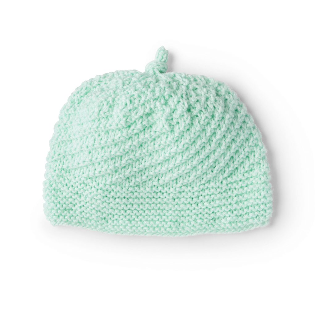 Free Knitting Pattern for a Baby Beanie for Preemie to Toddler