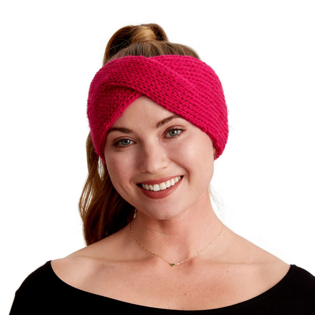 Free Knitting Pattern for a Squishy Knit Headband
