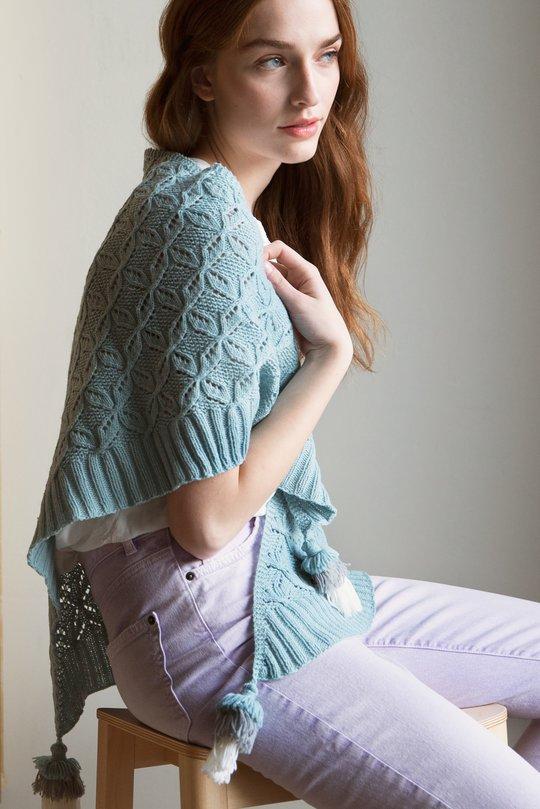Free shawl knitting pattern 4 ply