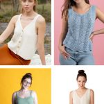 Free Knitting Pattern for Summer Tank Tops 2020