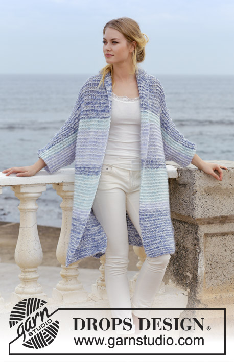 Free Knitting Pattern for a Garter Stitch Jacket