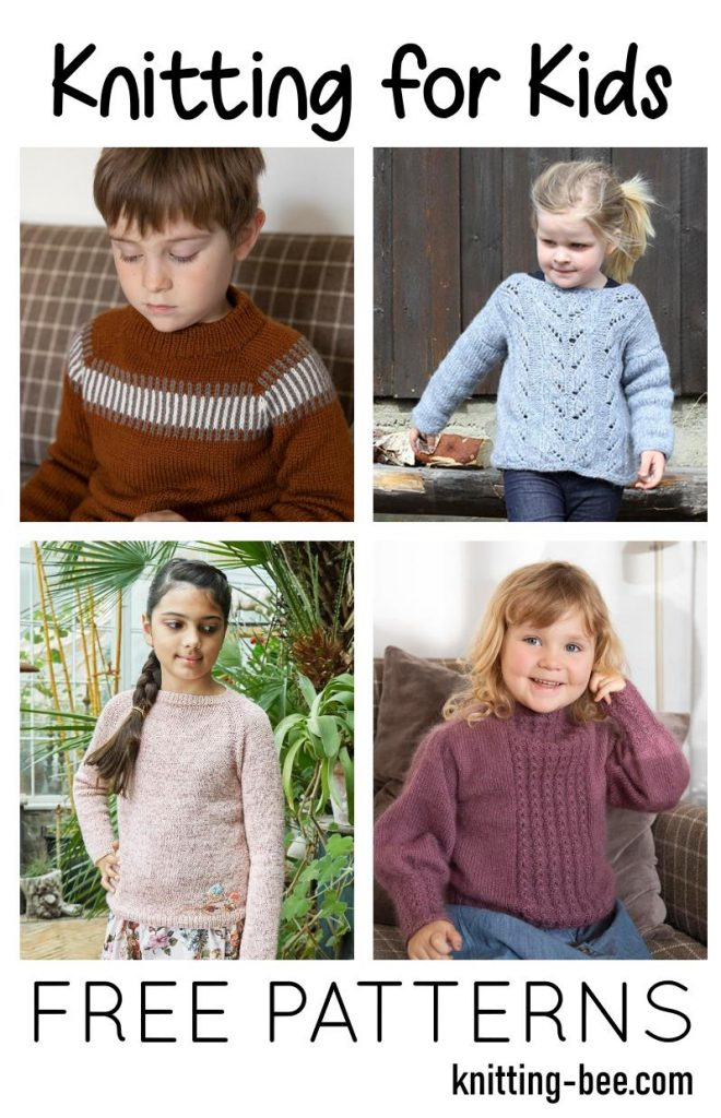 Free knitting patterns for kids