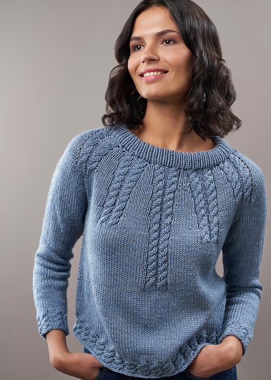 Cable Knitting Patterns for Ladies free