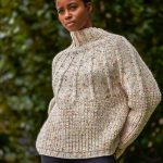 Free Knitting Pattern for a Circle Knit Pullover