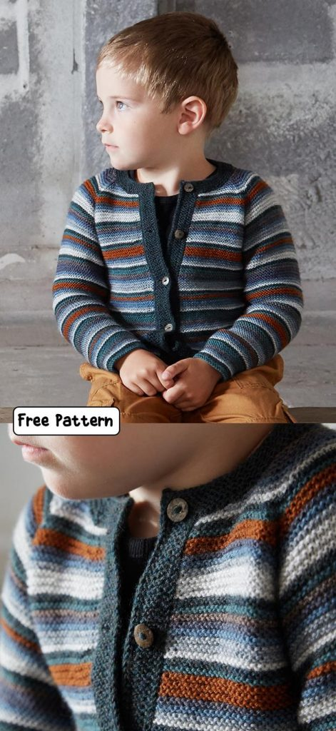 Free Knitting Patterns for Children's Cardigans