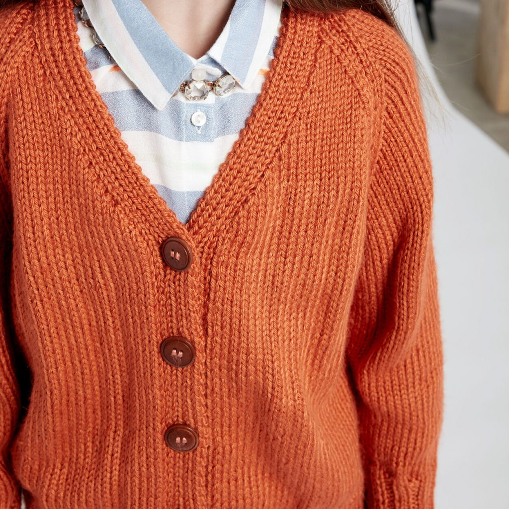 Free Knitting Patterns for Children's Cardigan