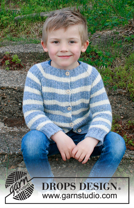 Free knitting pattern for a boys cardigan