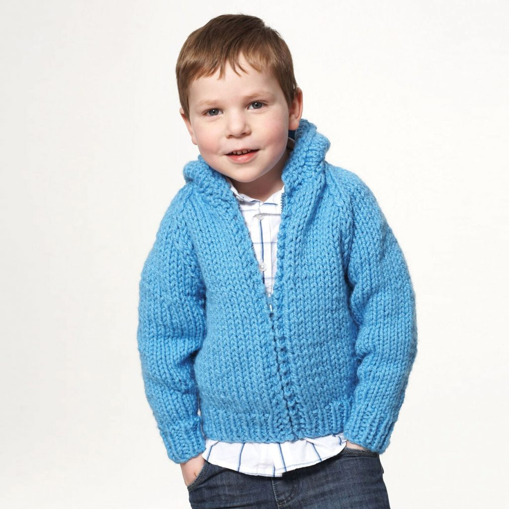 free knitting pattern for a childs hoodie