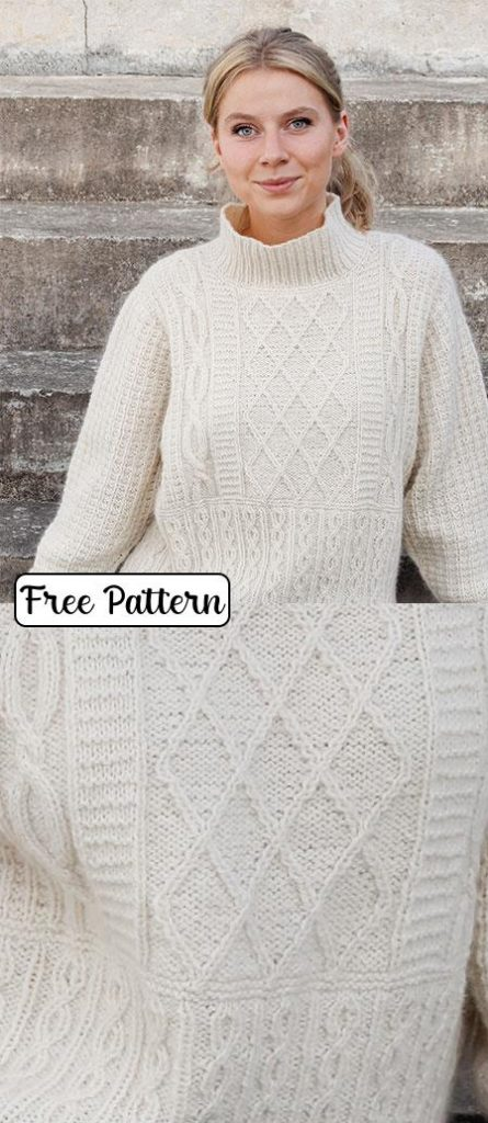 free knitting patterns for ladies pullover sweaters