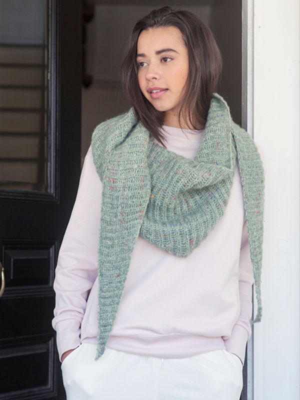 Free Brioche Scarf Knitting Pattern