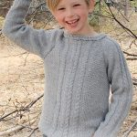 Free-Knitting-Pattern-for-a-Kids-Cable-and-Raglan-Sweater
