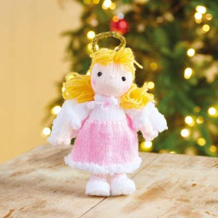 Free Christmas Knitting Patterns for 2020 Angel. Quick Christmas angel free knit pattern