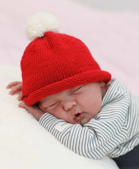 Free Christmas Knitting Patterns for 2020 BABY HAT