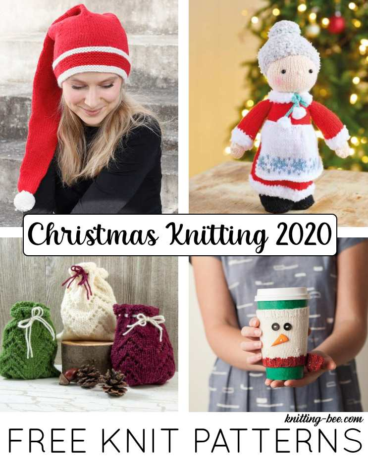 Free Christmas Knitting Patterns for 2020