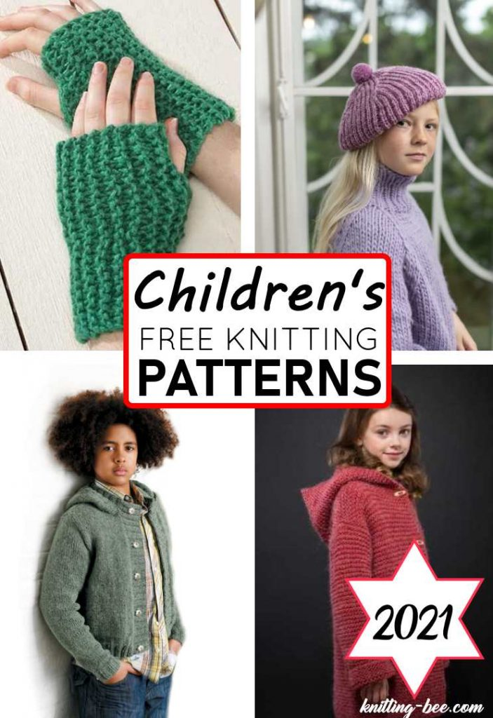 Free Children's Knitting Patterns for 2021