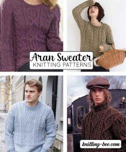 Aran Sweater Knitting Patterns
